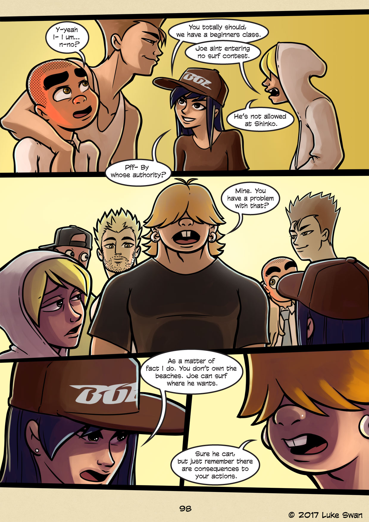 Surfer Joe page 98