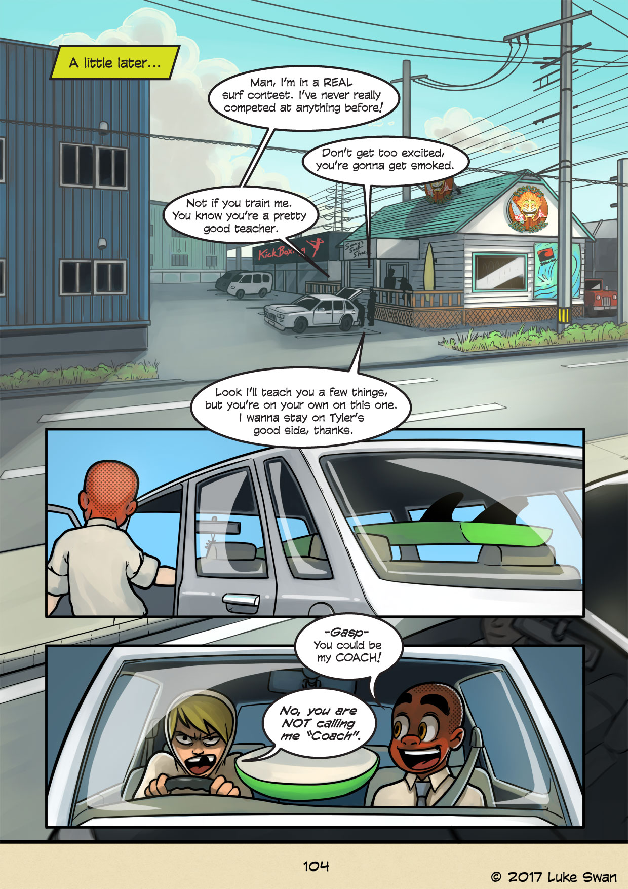 Surfer Joe page 104